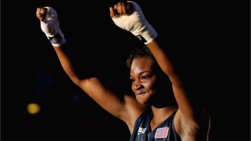 Congrats to Claressa Shields for becoming the first American woman boxer to win a gold medal at the Olympics. Claressa defeated old Russian Nadezda Torlopova in the finals, 19-12.   photo via Olympics website