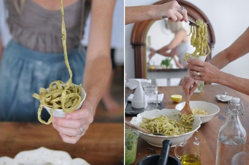 (via FOOD / Kinfolk Magazine - Journal - Lost Skills: Pasta Workshop)