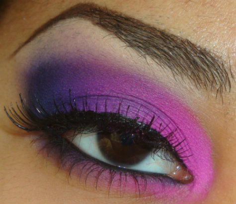 My Bright Pink to Purple Eyeshadow Tutorial using Coastal Scents 88 Palette here http://youtu.be/a2GwQKicw3Q you can see more of my tutorials here http://www.youtube.com/user/makemeupbywhitney
