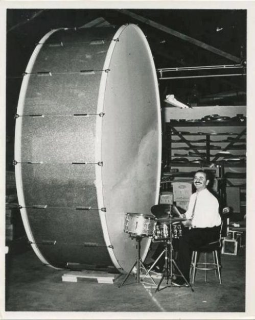 Now THAT'S a bass drum!! - Remo Belli