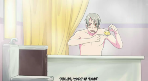 get-your-canadian-on:  saywhat-hetalia:  sclez:  gathouria:  TOILET, WHY WON'T YOU ANSWER ME TOILET TOILET!?  GODDAMNIT TOILET LISTEN WHEN I'M SPEAKING TO YOU.  IT DOESN'T MATTER ANYWAY. YOU ARE ALWAYS SO FULL OF SHIT.  the video is even funnier!