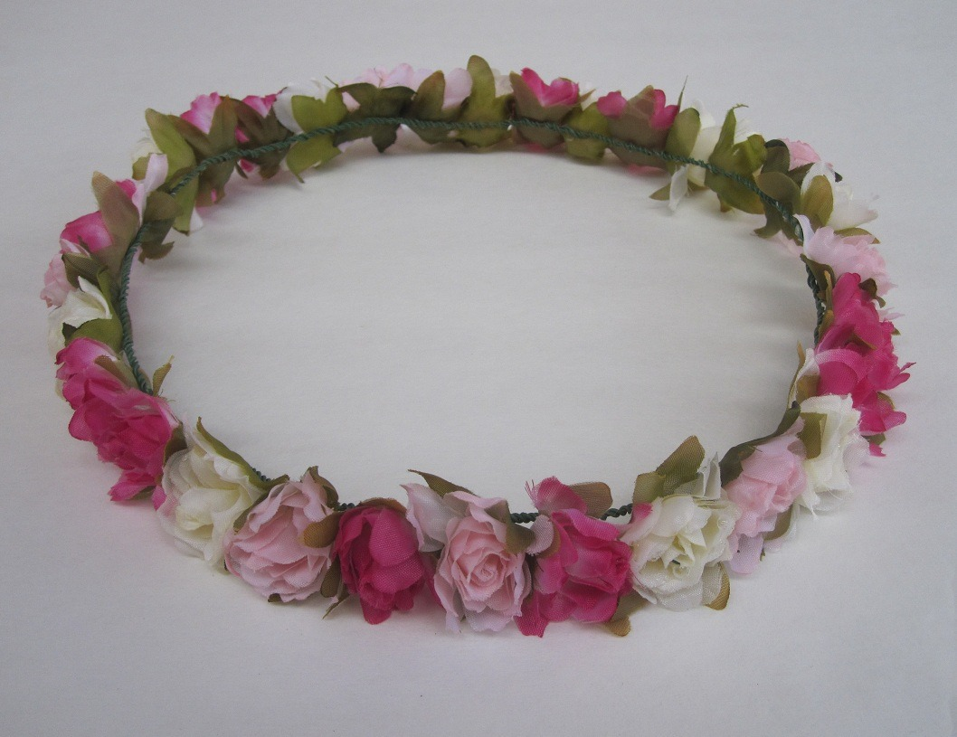 purr-iko:  new floral crown on our etsy! :* https://www.etsy.com/listing/106478143/pastel-flower-headband-floral-pink-cream
