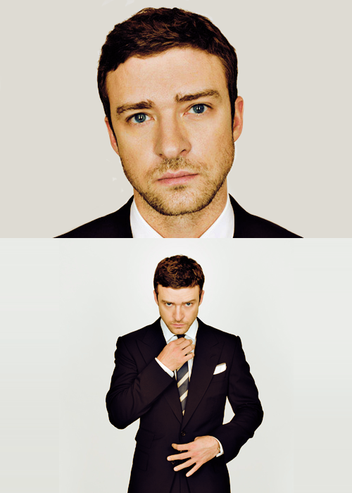 themaogspot:  JT blue eyes  Suit & Tie. God.