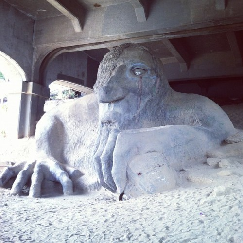 Fremont Troll (Taken with Instagram)