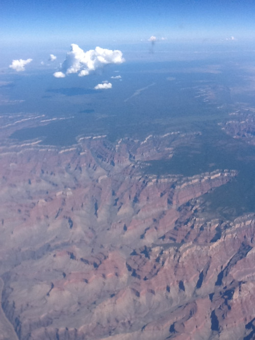 maxamillienne:  Canyon ish: View from YYZ-LAX