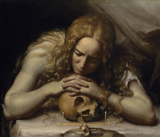veritas925:  The Penitent Magdalene - Francesco Lupicini,