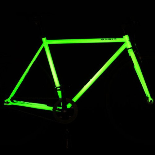 (via Fancy - Glow in the Dark Bike Frame by Pure Fix)