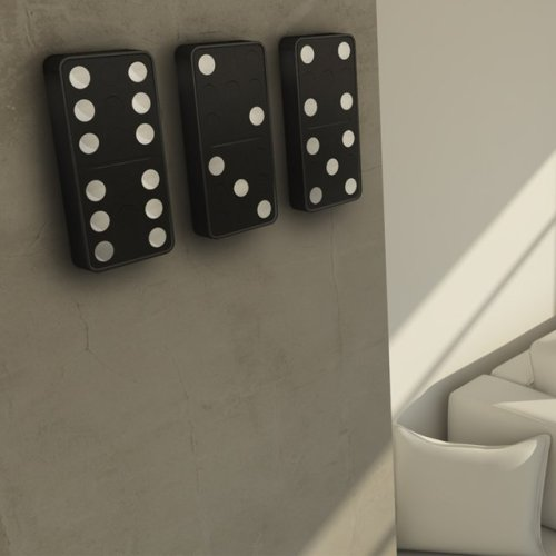 (via Fancy - Domino Clock by Carbon Design Group)