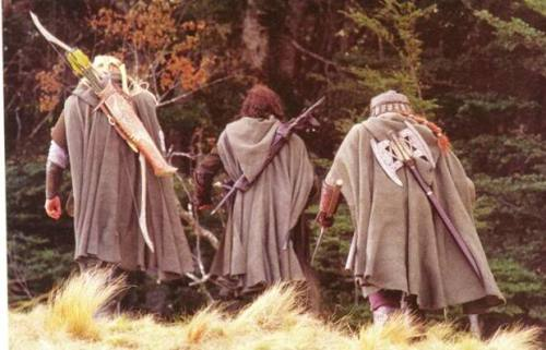 LOTR unused scene - The Three Hunters enter Fangorn