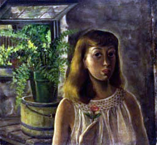Lee Krasner (American, 1908-1984), self-portrait