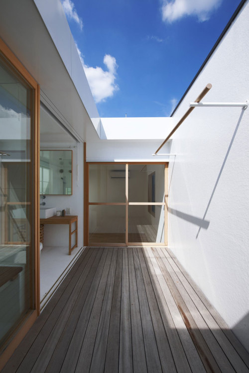 smallspacesblog:  House in Futakoshinchi by Tato Architects