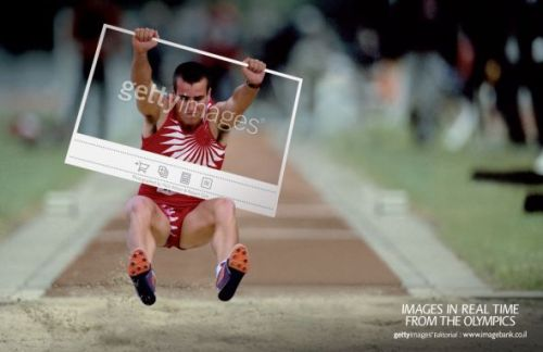 Getty Images: London Olympics, Long jump | Ads of the World™