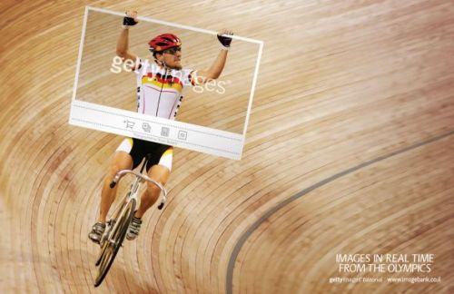 Getty Images: London Olympics, Cycling | Ads of the World™