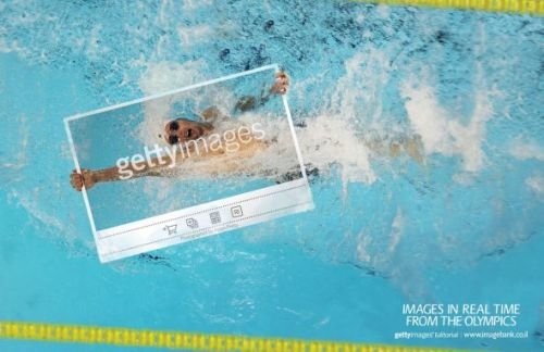 Getty Images: London Olympics, Swimming | Ads of the World™