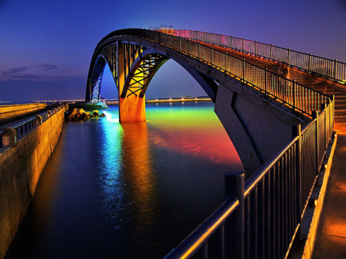 """Rainbow Bridge"" -Pengh, Taiwan"