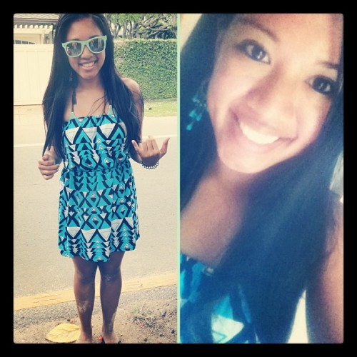 Beach day! #OOTD #sandy #newdress #favesunglasses (Taken with Instagram)