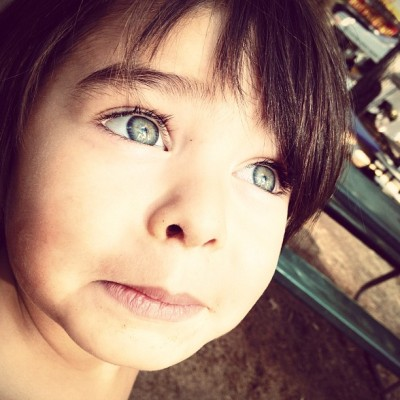 Look up #beautiful #boy #amazing #child #eyes (Taken with Instagram at Nevada County Fair)