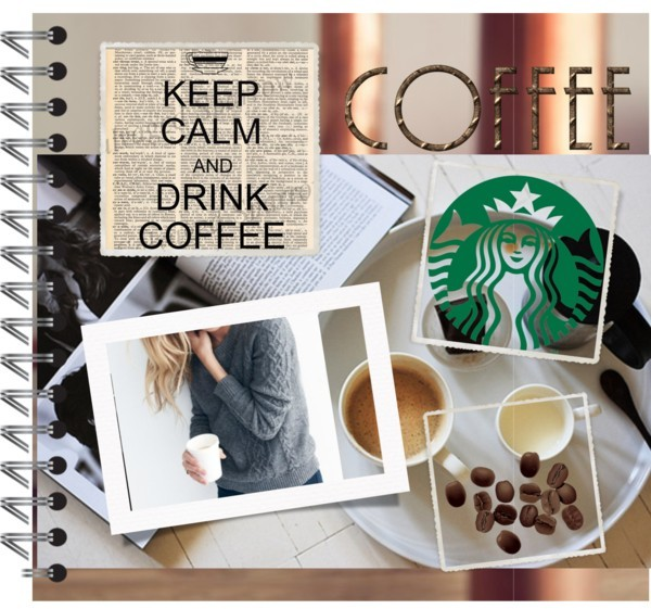 Coffee! by kknorri on Polyvore