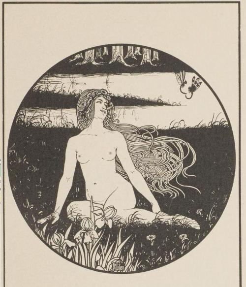 moonsiren:  Illustration by Ephraim Mose Lilien (1906)