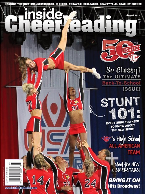 New Inside Cheerleading Magazine cover!