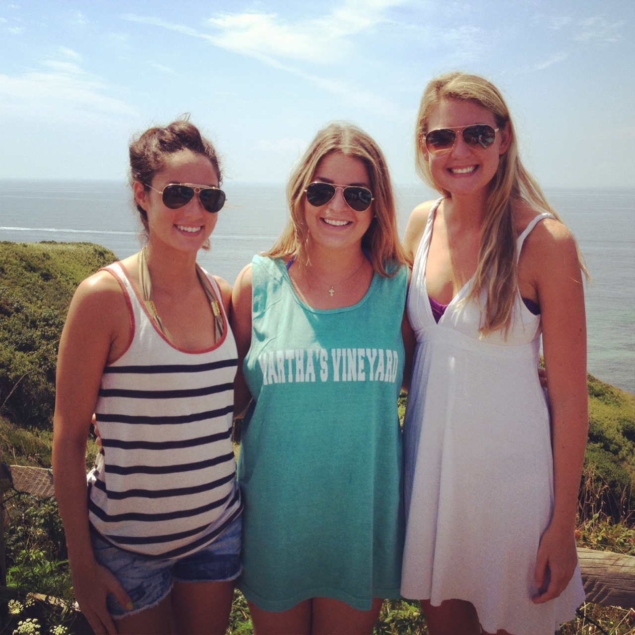 Friends at Aquinnah!