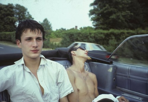 mateomondragon:  French Chris and Bruce, 1979