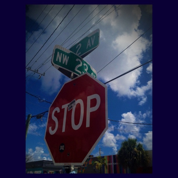 Wynwood Stop Sign (Taken with Instagram)