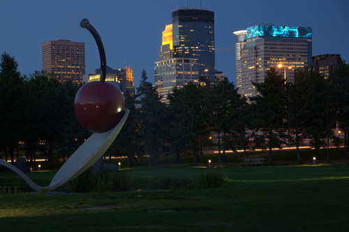 Spoonbridge & Cherry & Downtown Mpls