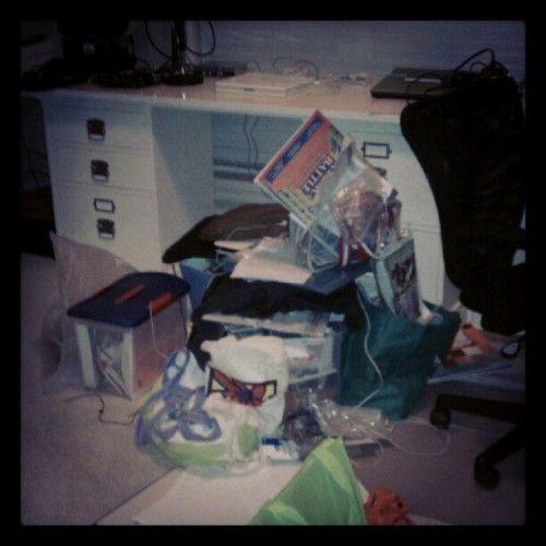 #photoadayaug #messy office #firstworldproblems  (Taken with Instagram)