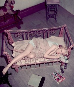 oldhollywood:  Carroll Baker in Baby Doll (1956, dir. Elia Kazan) (via)