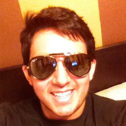 Stole my dad's sunglasses! ☀☀☀ (Taken with Instagram)