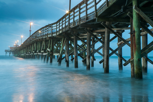 Cherry Grove Pier, Myrtle Beach by Kurt Miller on Flickr.