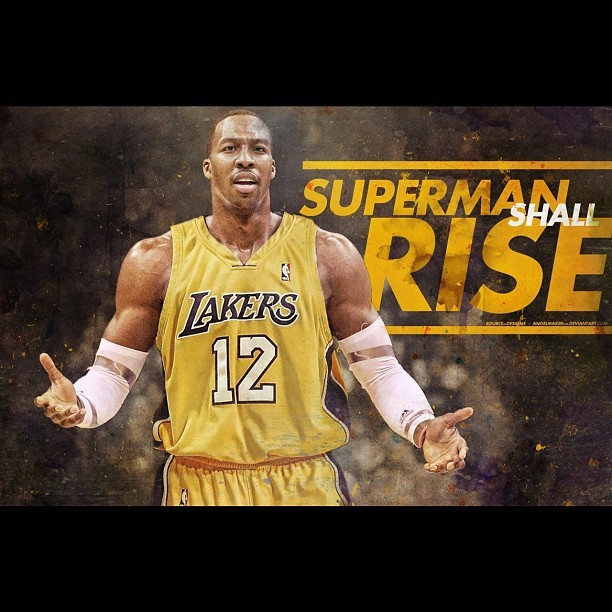 Game. Over. NBA #Lakers #LakeShow #LakerGang #D12 #DwightHoward #NBA (Taken with Instagram)