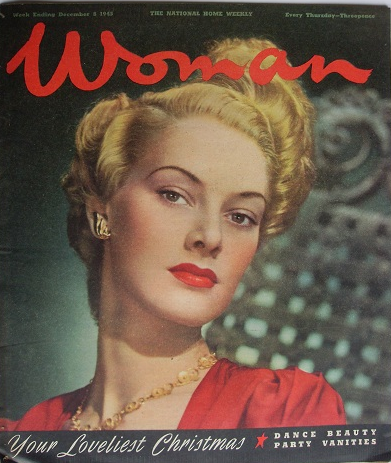 Woman (UK), December 8, 1945 Source: 20th Century Collectables