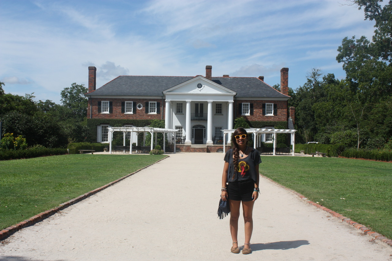 went to see Allie's summer house from the Notebook today!