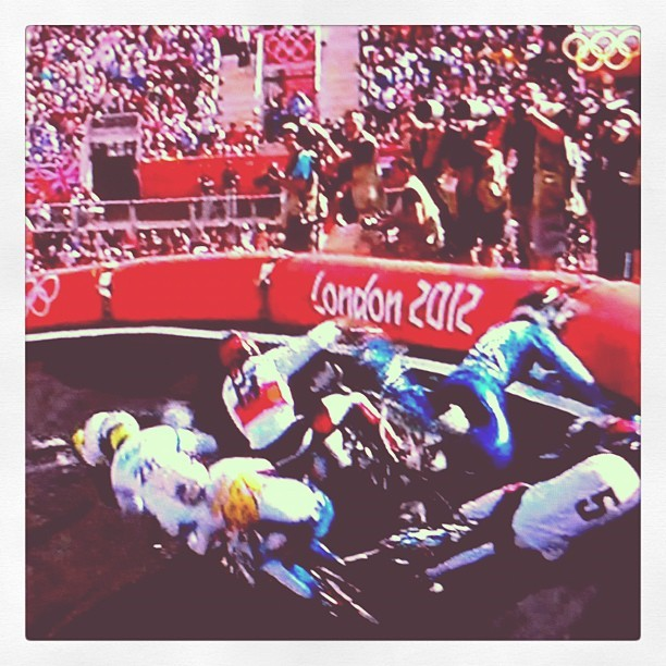 BMX and Olympic glory. (Taken with Instagram at 2012 Olympics)