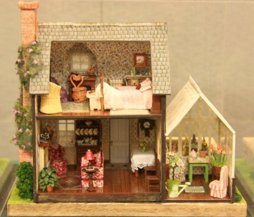 smallworldland:  Ms. Marple's Cottage