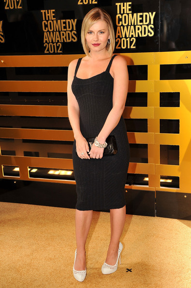 Elisha Cuthbert Comedy Awards 2012 Arrivals via zimbio.com