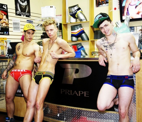h0nry-dude:  Pierre Fitch, Max Ryder & Jake Bass.