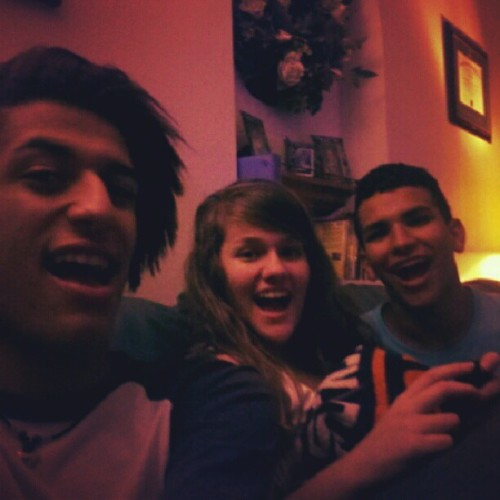 Reunited and it feels soo good! @samiisrad @wombatical  (Taken with Instagram)
