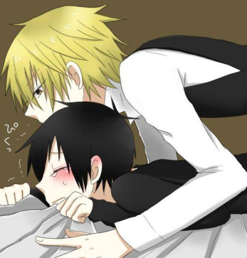 "Last ""Shizaya"" picture of the night…"