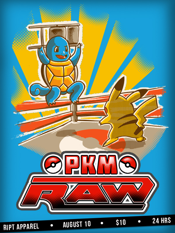 PKM RAW is now on sale in Ript Apparel for just $10 and remember just for 24 hrs, it's your chance :D Just clic on the image