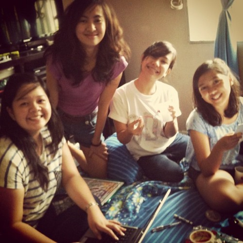 Productive suspension meeting with my co-officers  (Taken with Instagram)