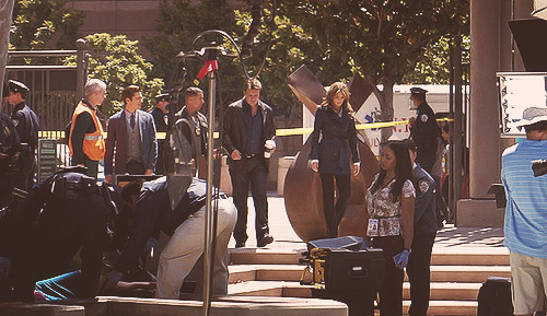 """castle"" bts 8/09/12 