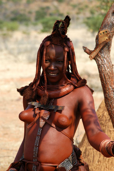 African girl himba tribe women