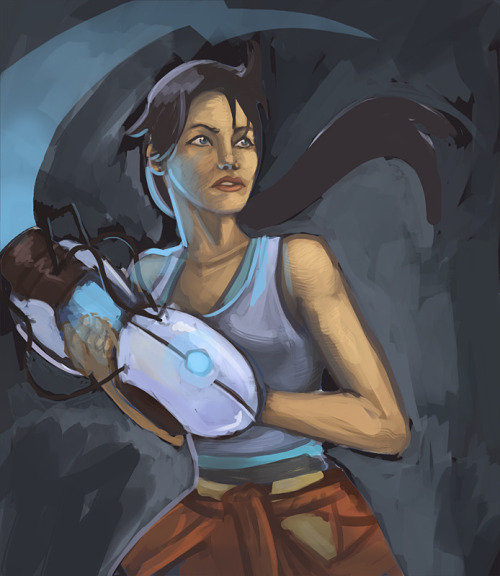 Portal 2 - by Cody Bunt CGhub || Tumblr