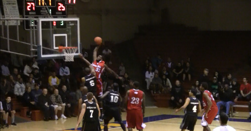 Donte Green at the San Francisco Pro am