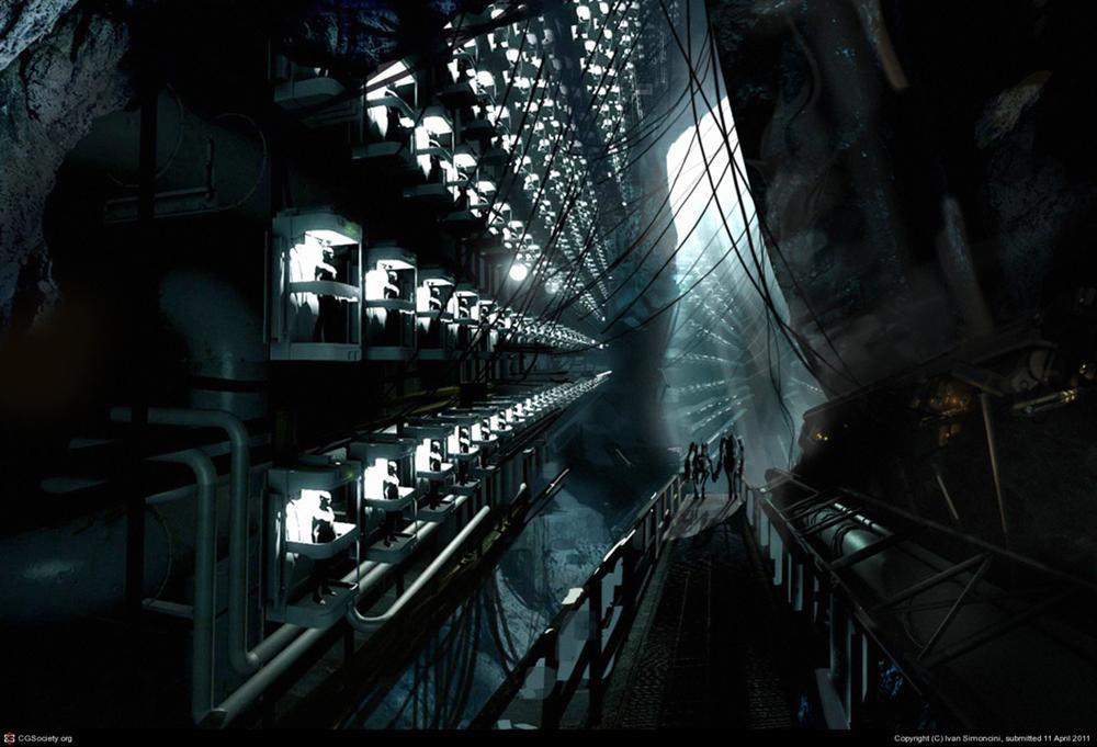 Art Gaming Video Games Concept Art Valve Aperture Science