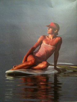 Windsurfing Fashion from Life Magazine, 1981