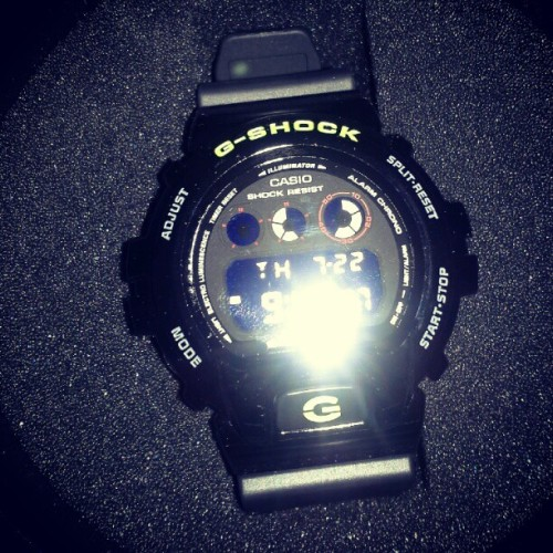 the dope watch they gave for free (Taken with Instagram)